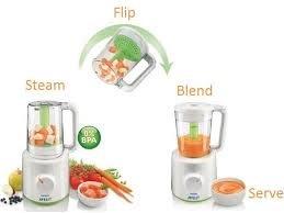 baby food blender and steamer